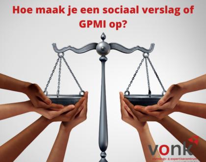 Opmaak sociale balans + GPMI