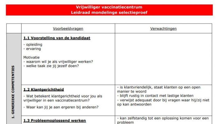vrijwilliger-vaccinatiecentrum